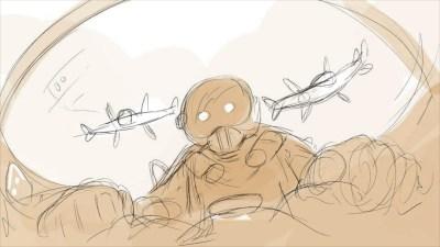 Boomerang Girl Storyboard panel