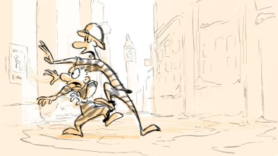 Dick and Don on the run