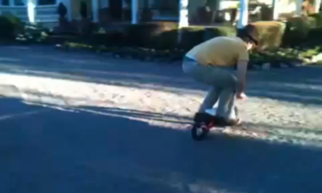 the kids bike