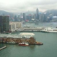time lapse downtown hong Kong