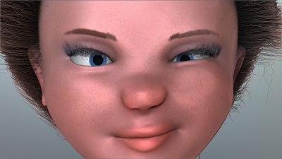 smirk Aiya girl face