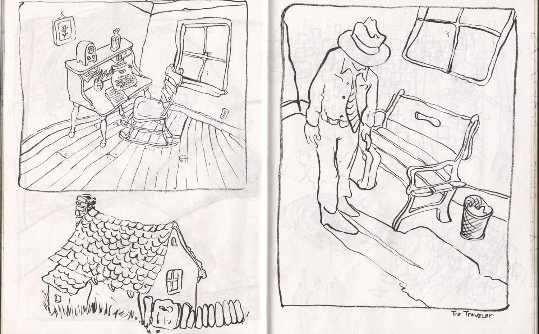 desk drawings