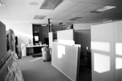 moving into the office