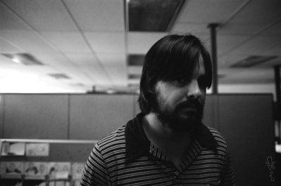 Eric Lake in the editorial department