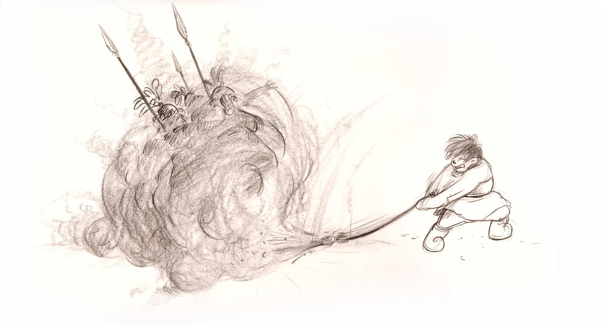 broom swing