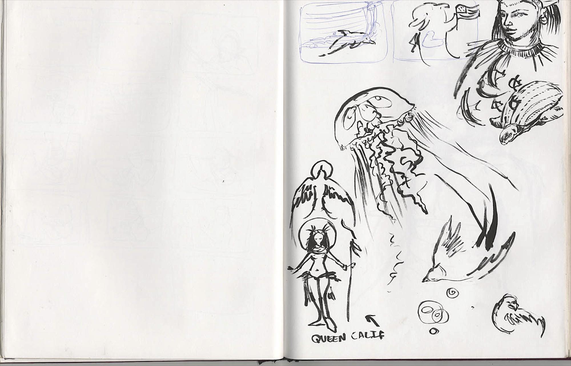 drawn by daisy church