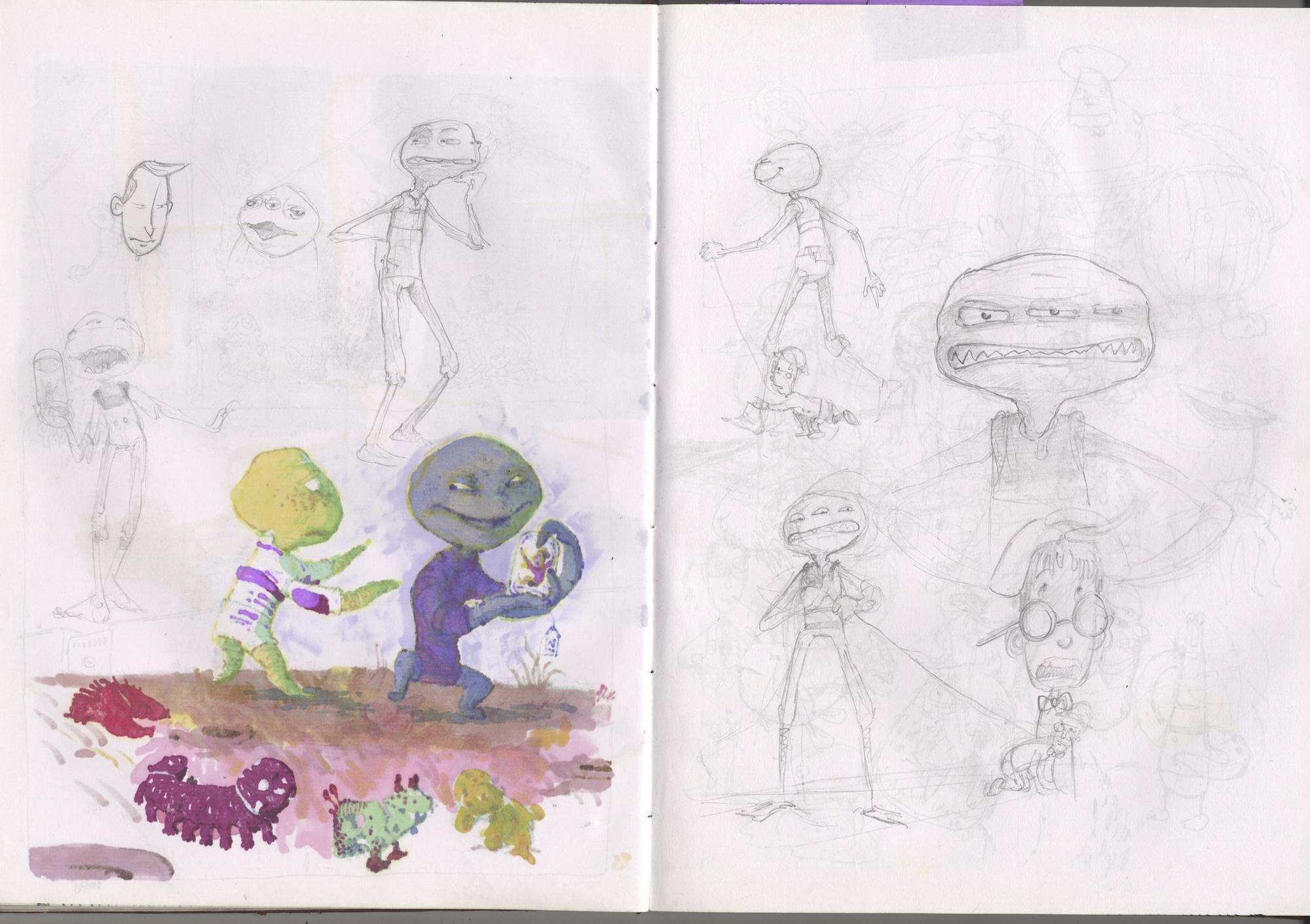 random aliens