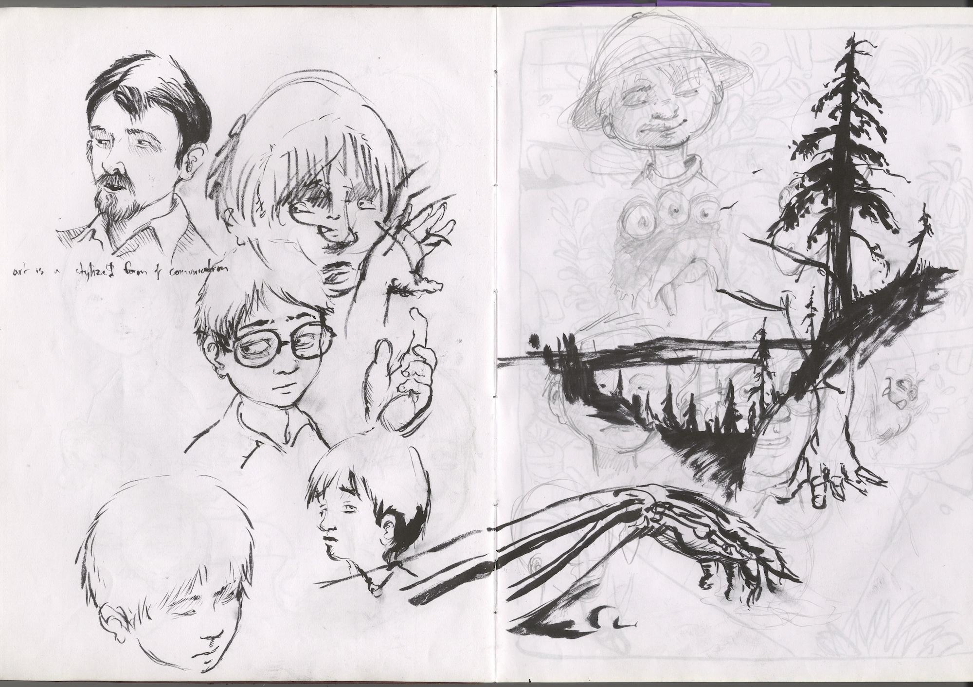 ink doddles