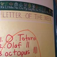 O Totoro in Kindergarden