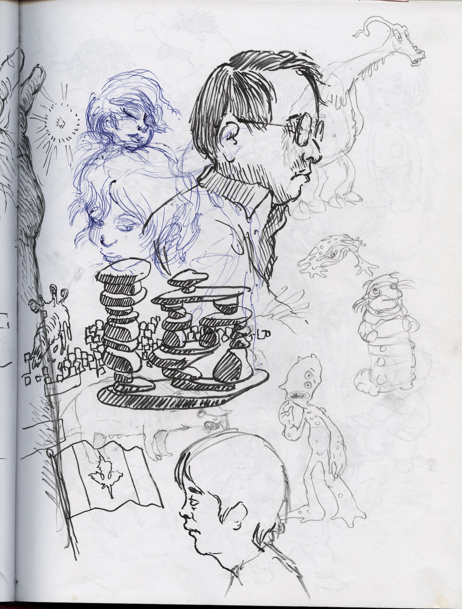 Red Sketchbook