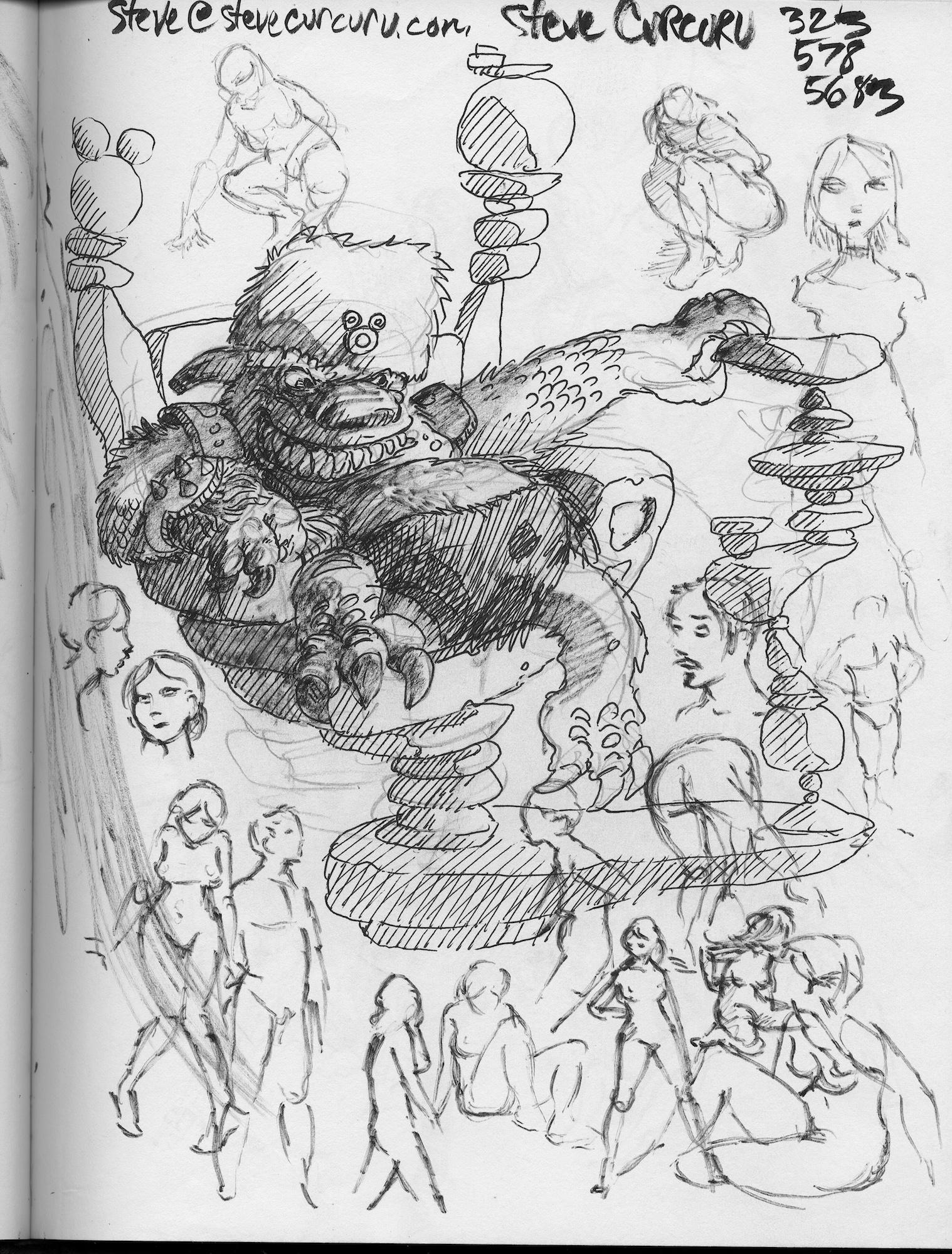 Red Sketchbook