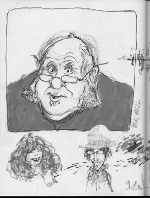 characters, self portrait