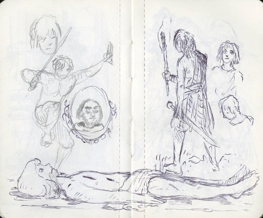 sword dancer and torch bearer