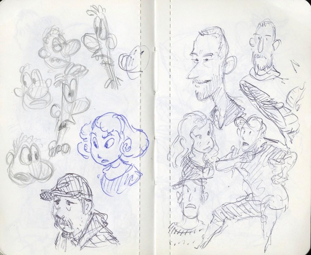Lucasfilm doodles