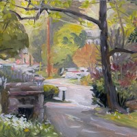plein air oil painting