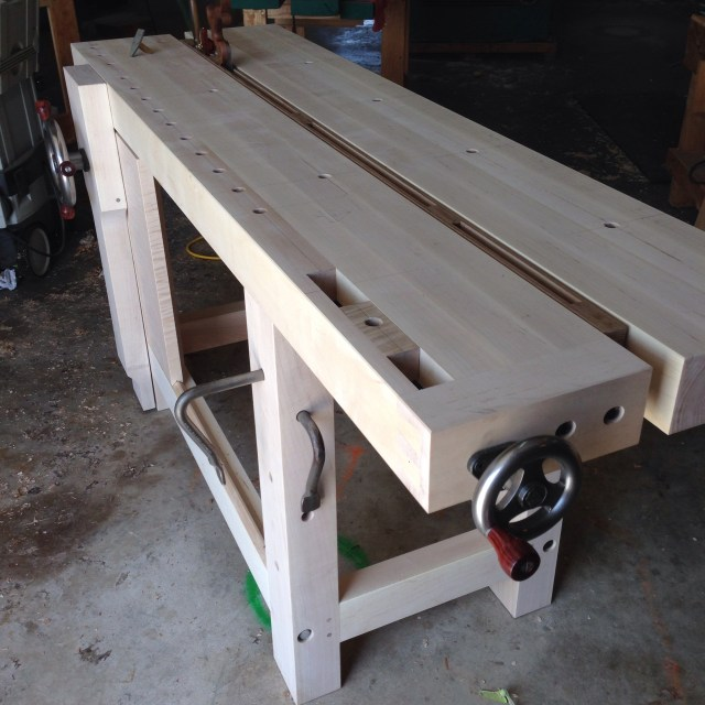 My new Split Top Roubo Bench and A Surprise from BenchCrafted ...