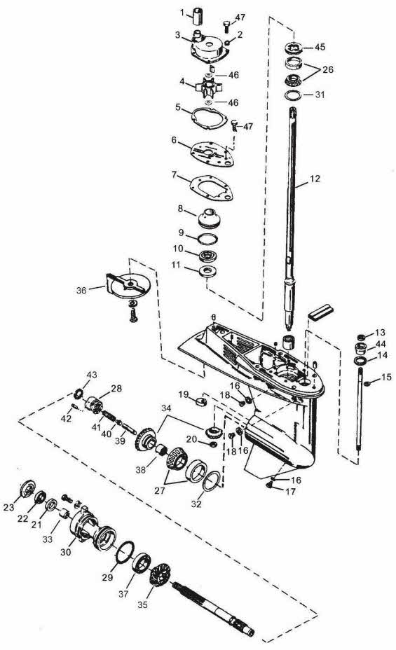 Mercury 45 Jet Wiring Diagram