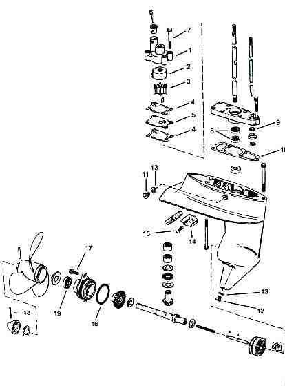 50 Diagram Wiring 1982 Outboard Hp Mercury