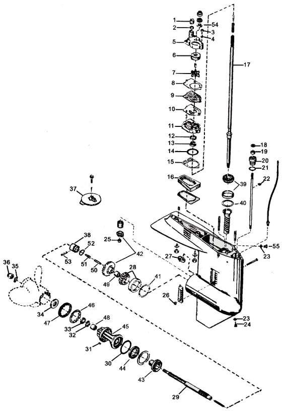 Merc 850 Wiring Diagram