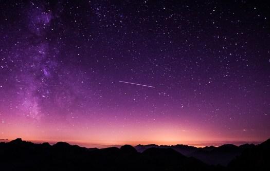 Rendezvous am Nachthimmel