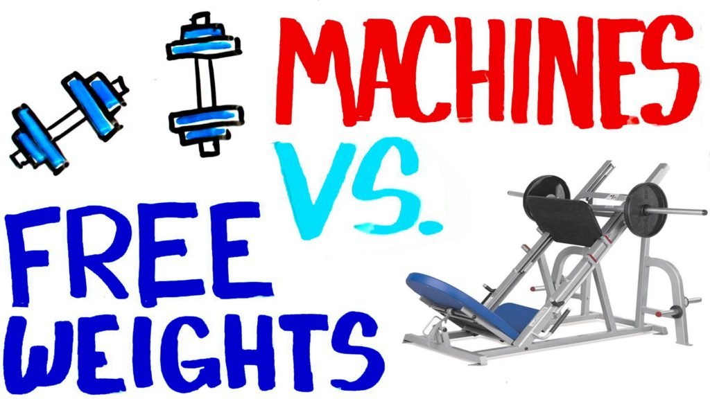 Machines Vs Free Weights Muscle Gains Steroids Live