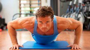 Man Gym Press Ups