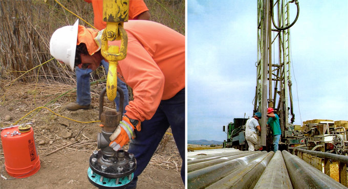 drilling groundwater resources
