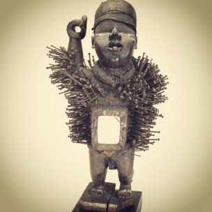 Nkisi statue