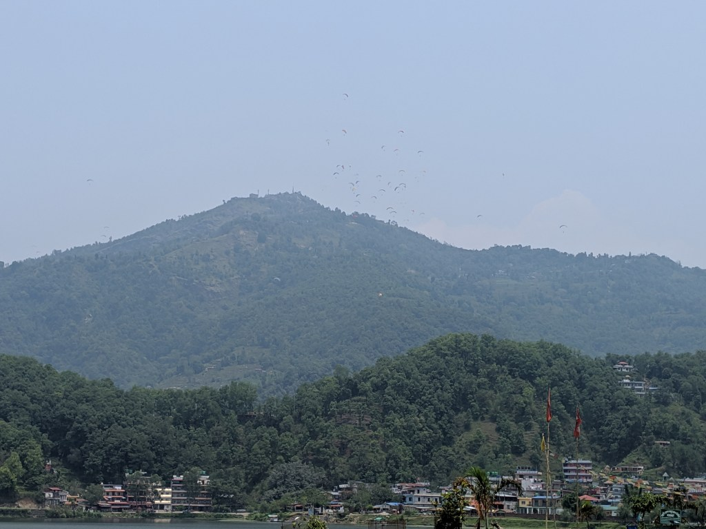 Paragliding is one of the biggest attractions in Pokhara