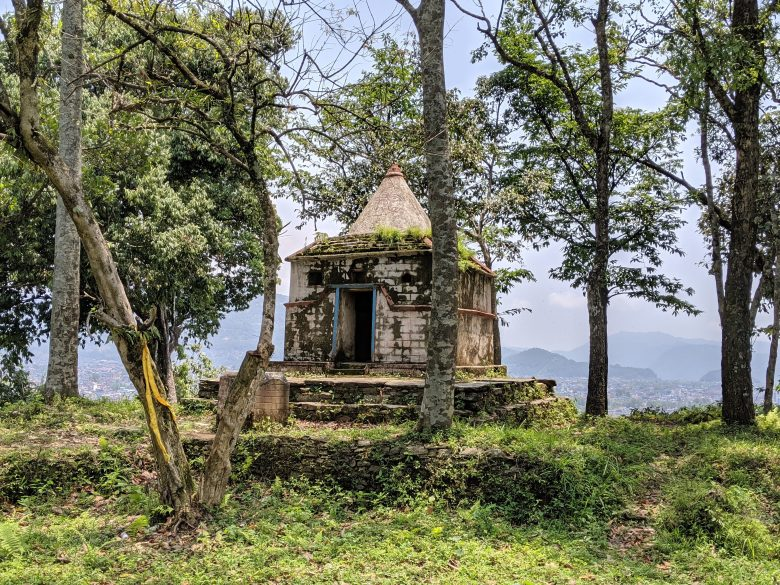 Overgrown shrine in the hills behind our apartment in Pokhara