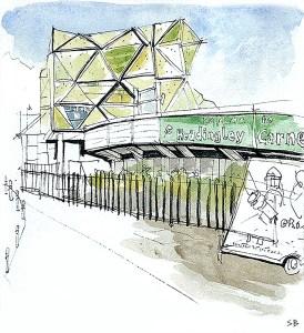 carnegie-headingley-urban-pen-ink-watercolour-sketch-steve-beadle-art