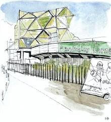 carnegie-headingley-urban-sketch-stevebeadleart