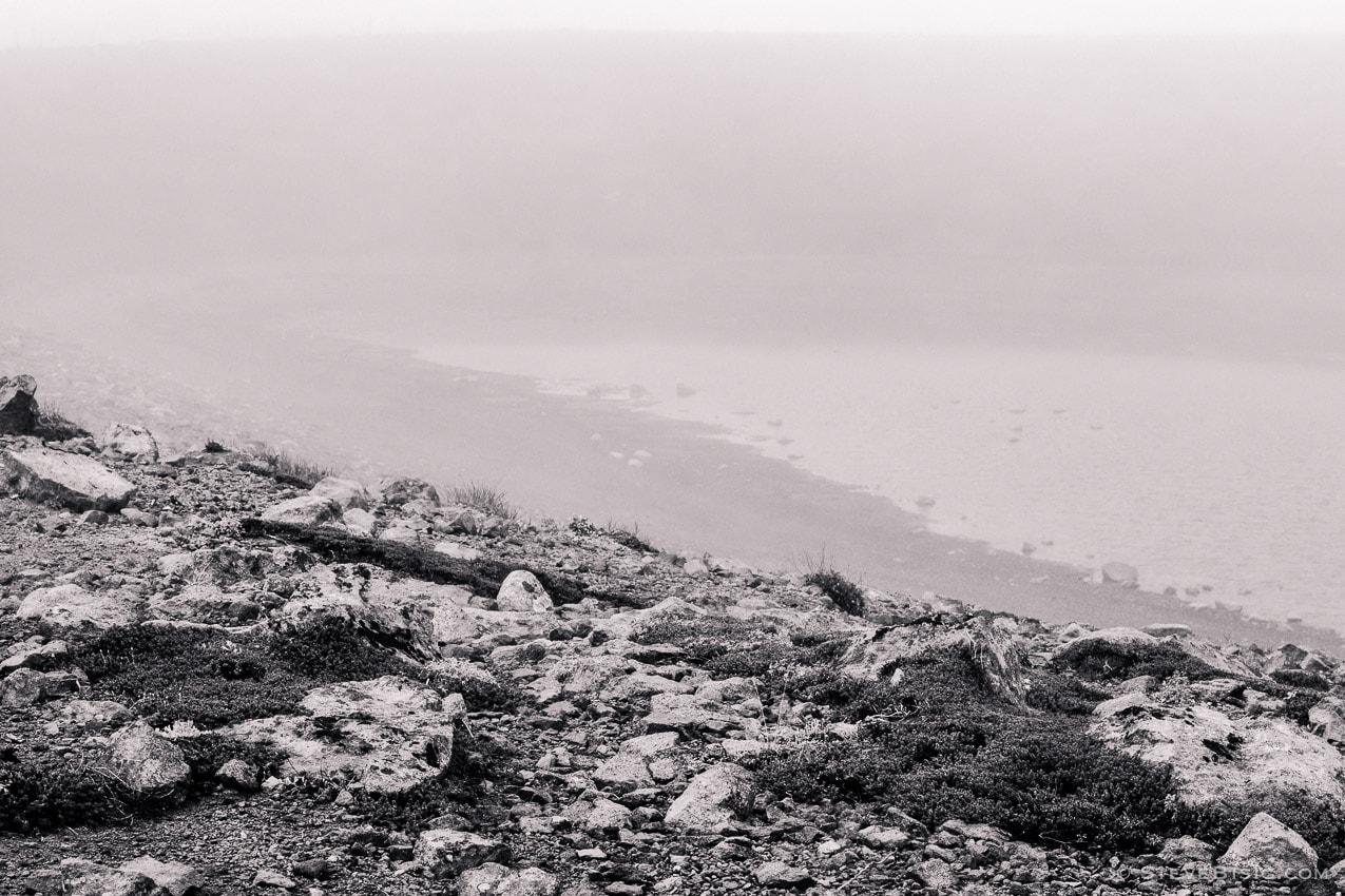 Foggy Alpine Landscapes No. 4, Mount Rainier National Park, Washington, 2014