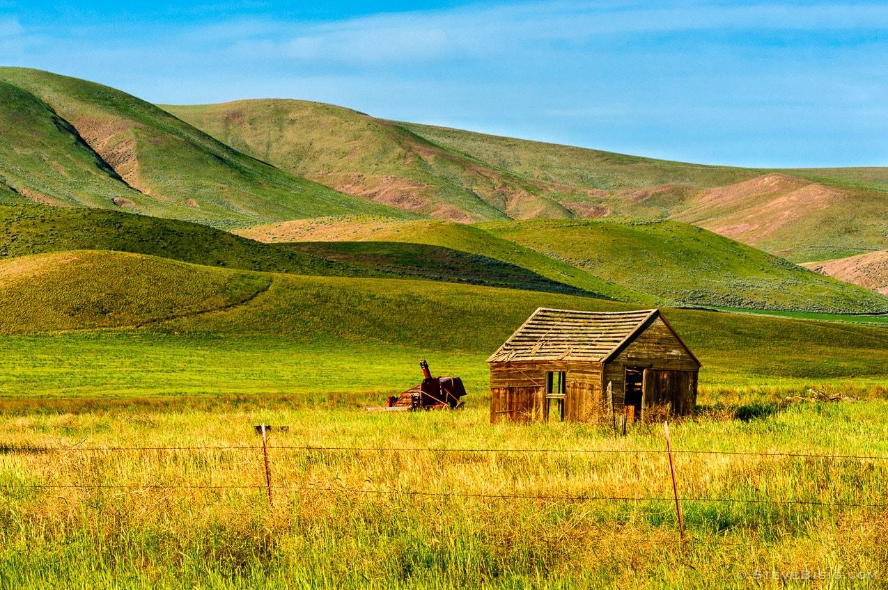 Remnants of an Old Farm, Yakima County, Washington, 2013