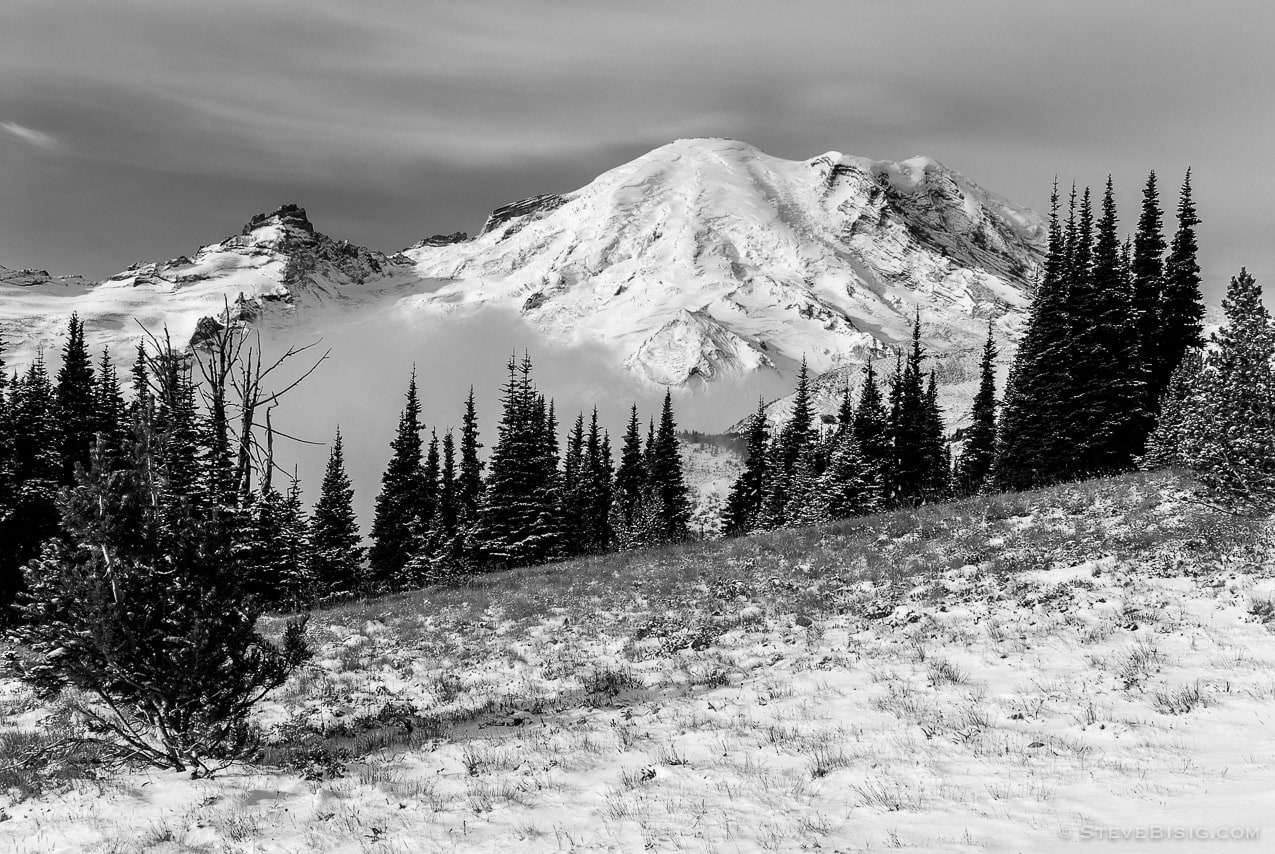 Photography Project: Sunrise, Mount Rainier National Park, Washington, 2007