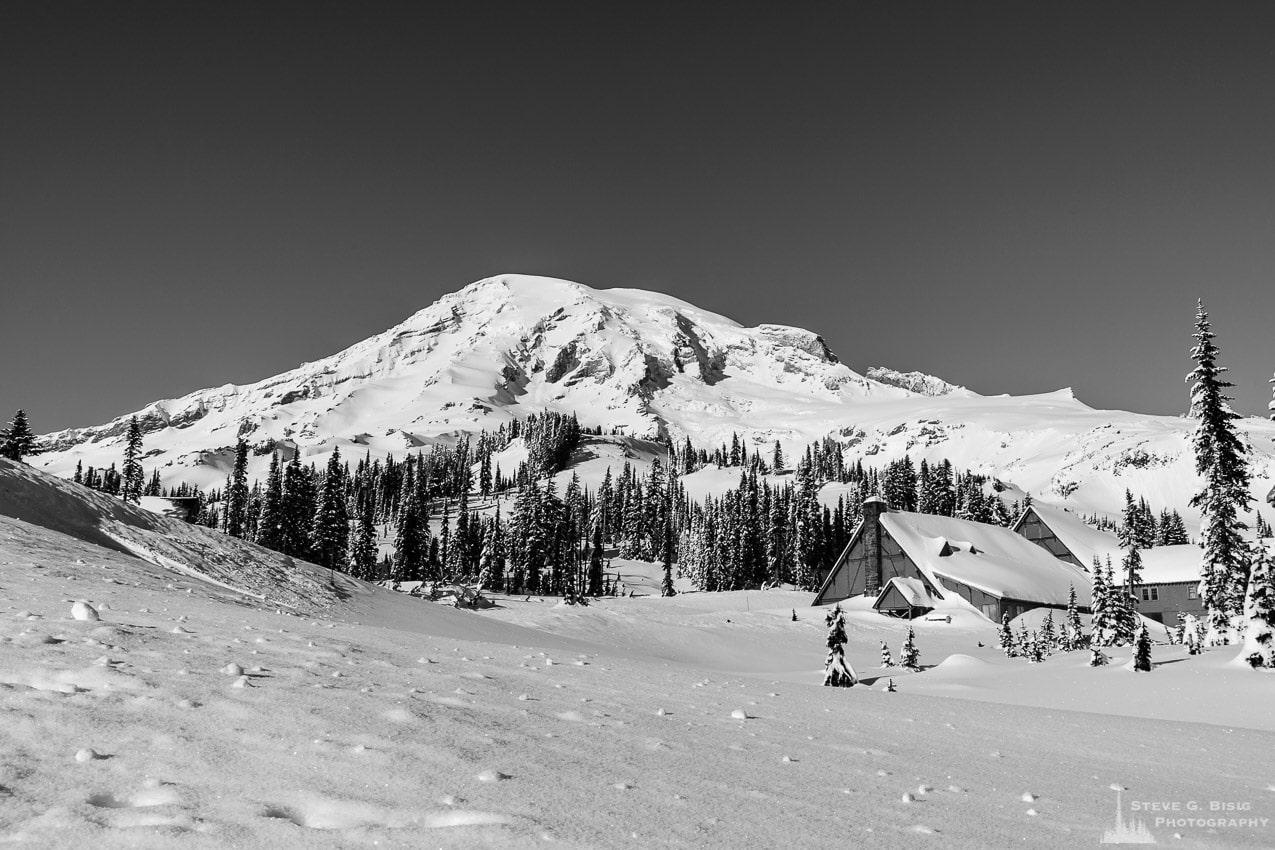 Winter, Paradise, Mount Rainier, Washington, 2017