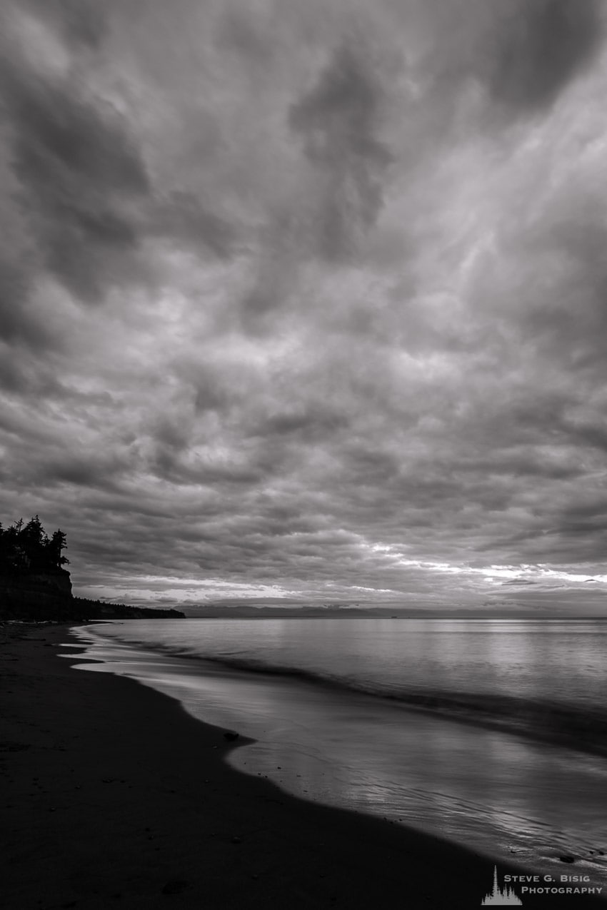 Early Autumn Skies No. 3, West Beach, Whidbey Island, Washington, 2016