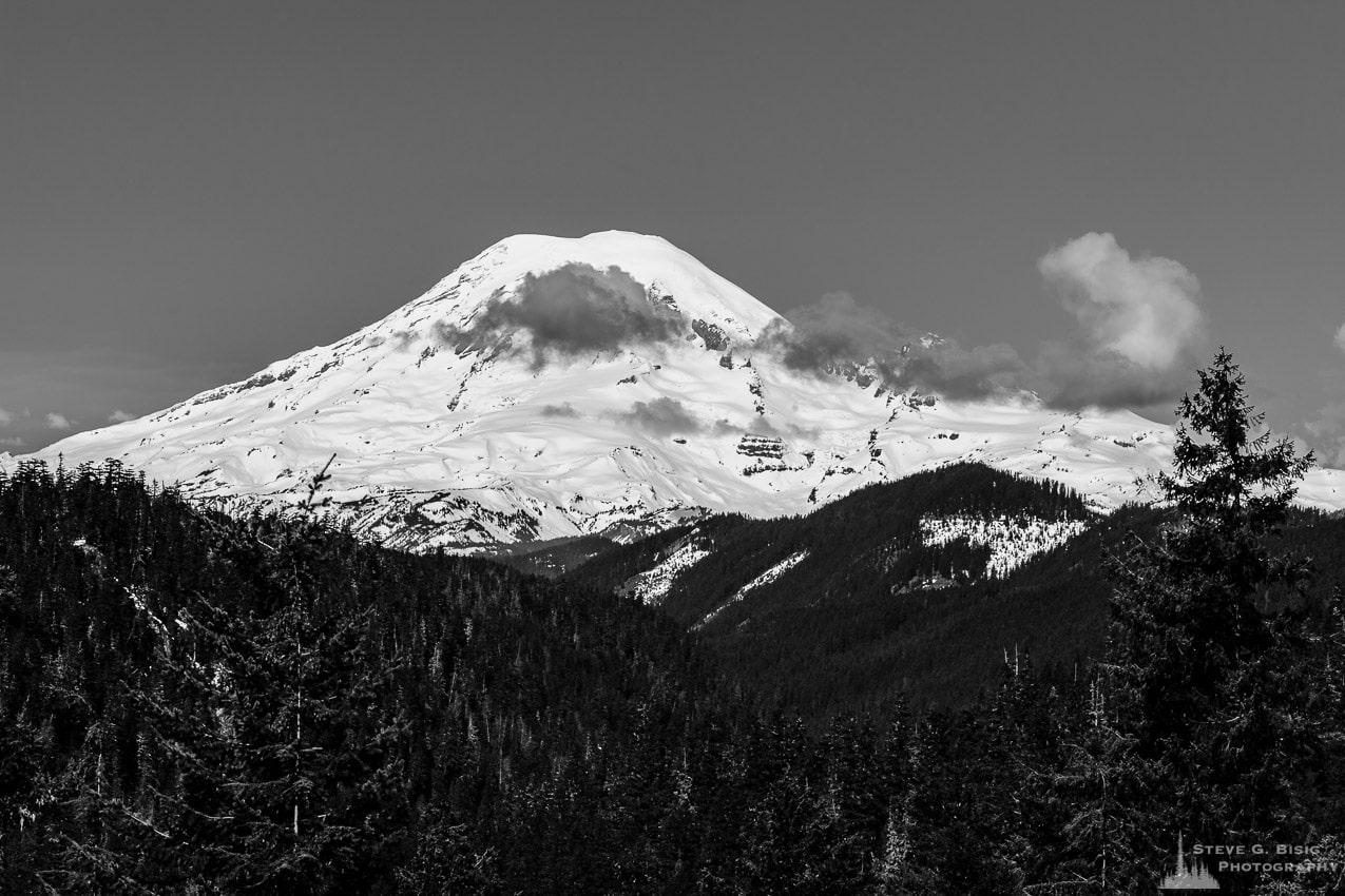 Mount Rainier from US12, White Pass, Washington, Spring 2017