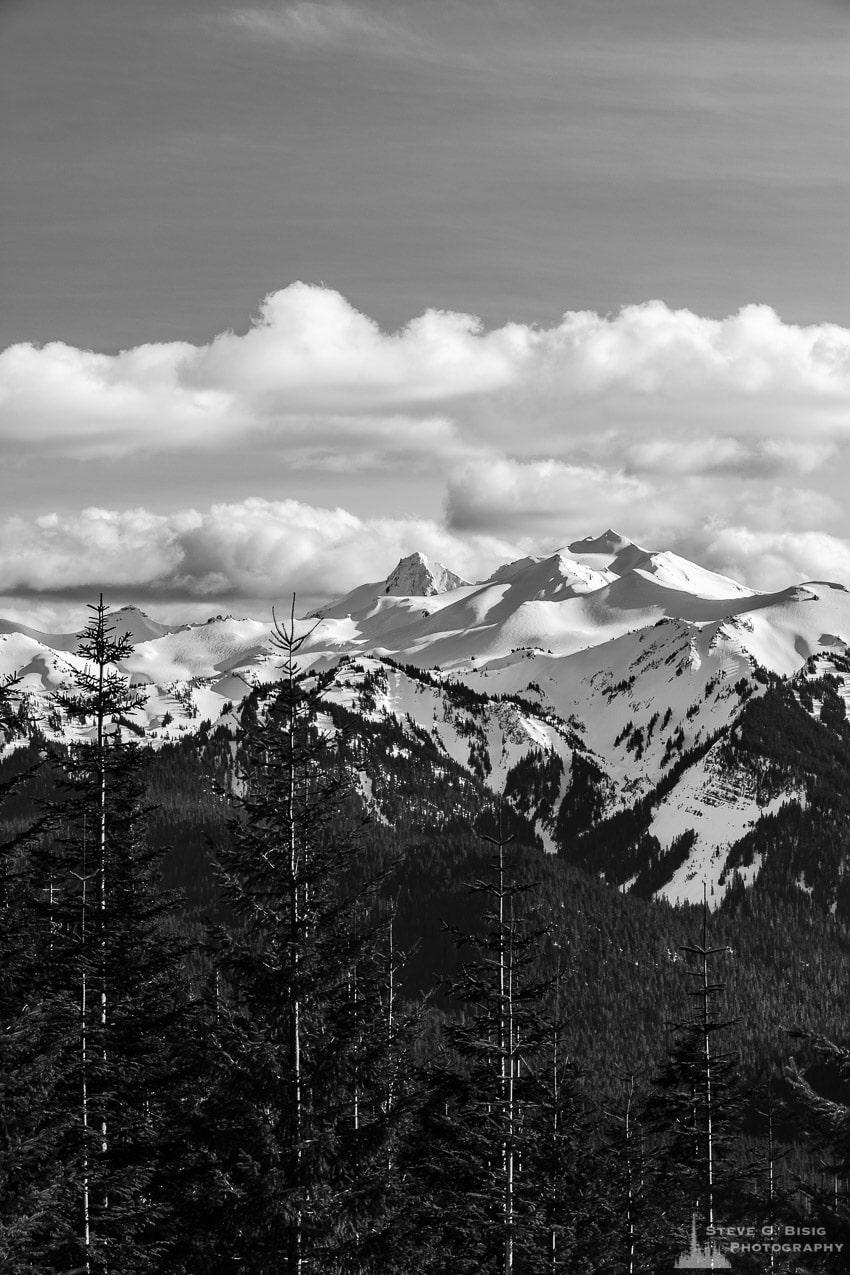 Old Snowy Mountain, Washington, Spring 2017