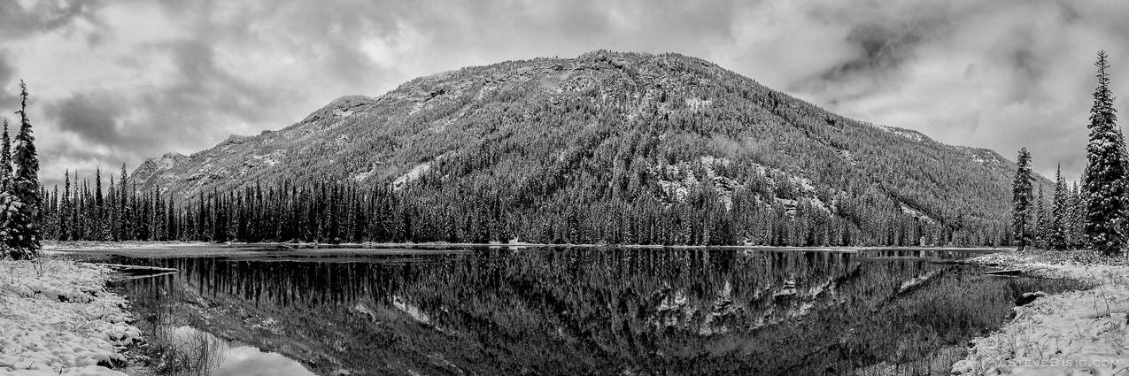 Tacquala Lake Panorama, Kittitas County, Washington, 2012