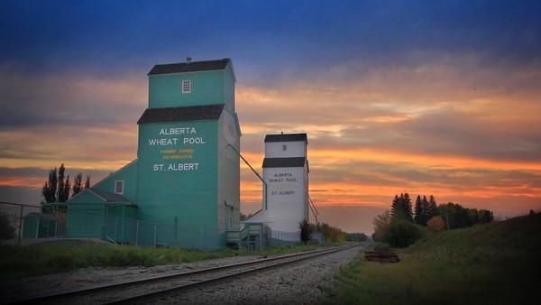 St. Albert Grain Elevators