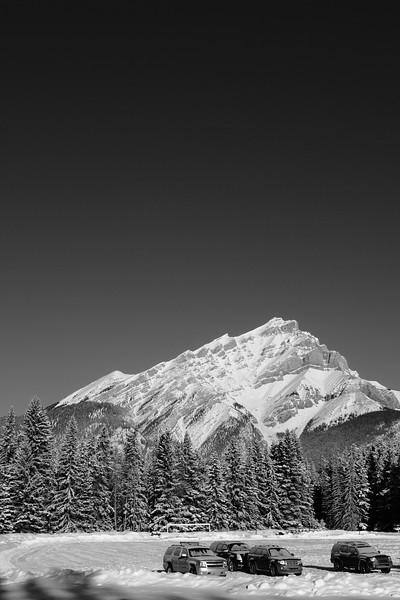 Mountain in Banff