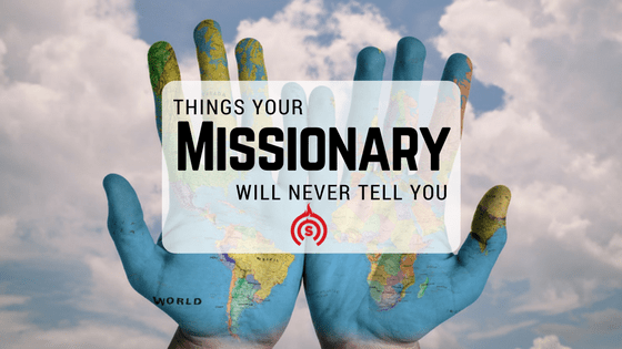 what to say to a missionary before he leaves