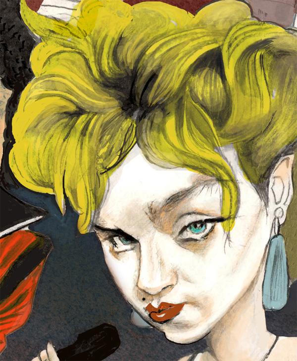 Madonna Head