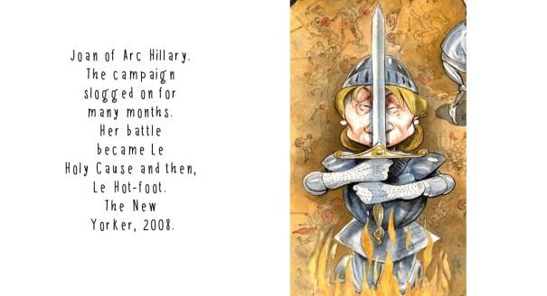Hillary 14 Joan of Arc w type