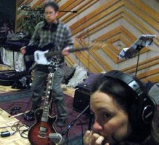 "Recording session for ""Swoop to the Tonic"", at Pus Cavern Studios, Sacramento"