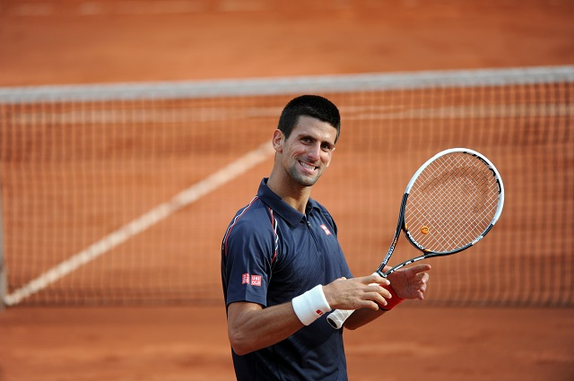 Image result for novak djokovic french open 2017