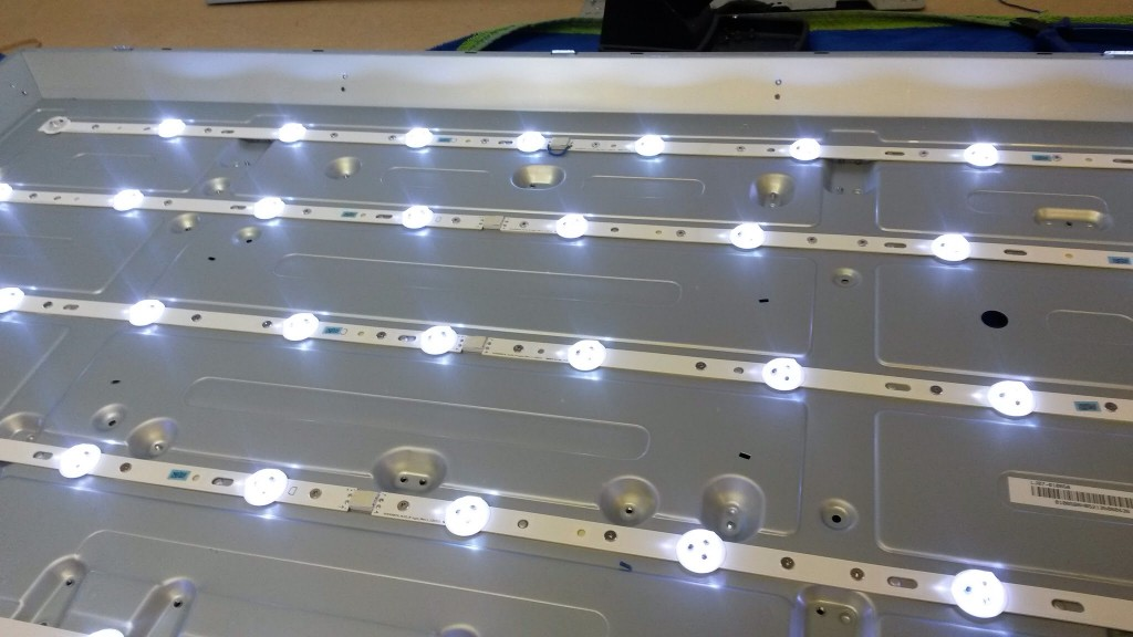 A working backlight assembly