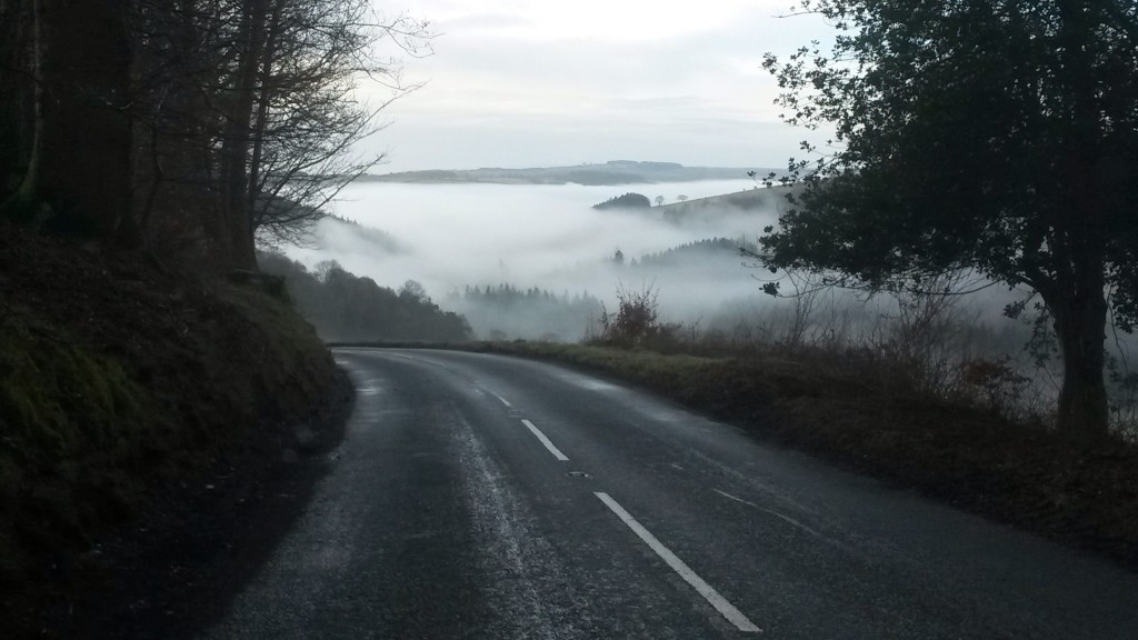 Approaching Dulverton
