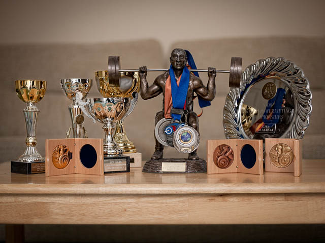 Power Lifting Trophies